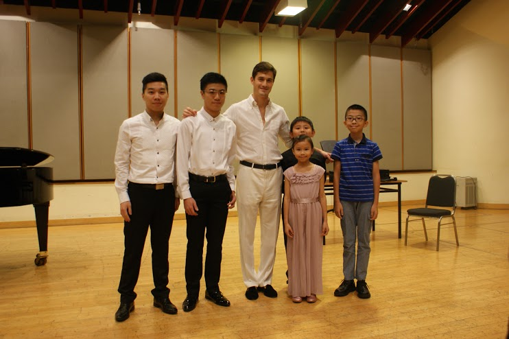 Photo: City Chamber Orchestra of Hong Kong. Click to see more masterclass photos.